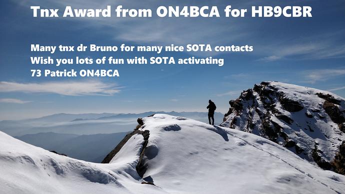 hb9cbr award