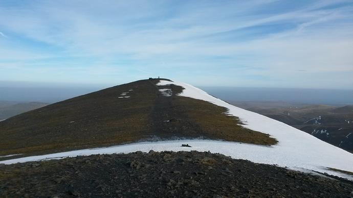 Skiddaw summit pic