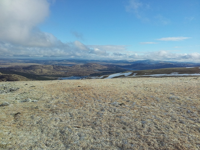 14 - clear view from Shalloch summit