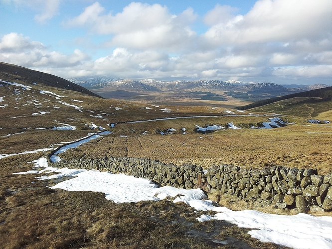 07 - Galloway hills to the west