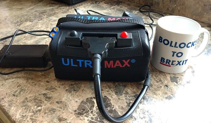 Ultramax 18 amp LiFePo battery