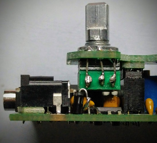 qcx mini 17 meters power connector 1.7mm