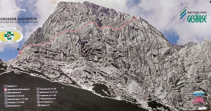 ClimbingRouteGrosserBuchstein