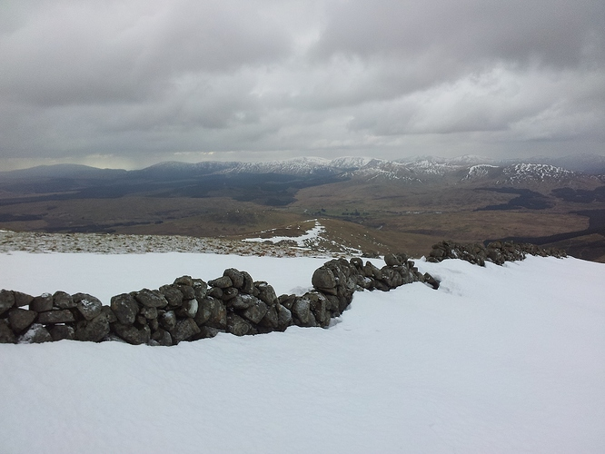 10 - Galloway hills from Cairnsmore summit