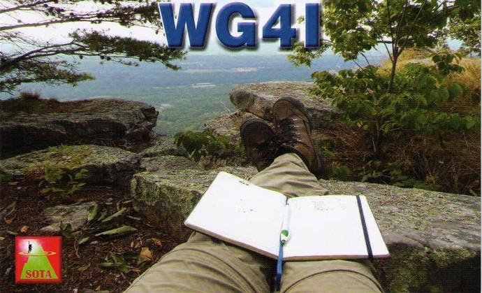 WG4I QSL card