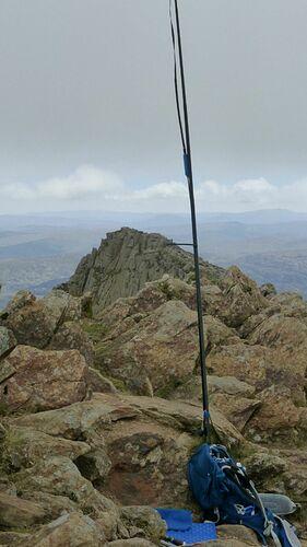 Slim Jim towards East peak