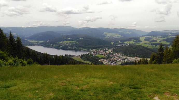 Titisee from BW-015 operating seat