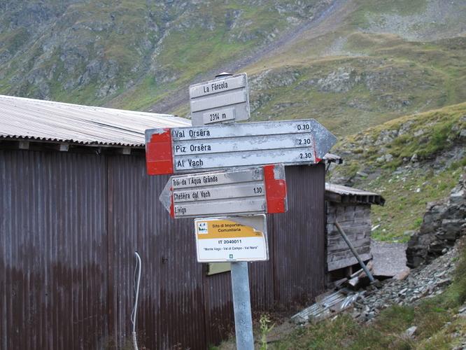 Start to Monte Vago (Al Vach)