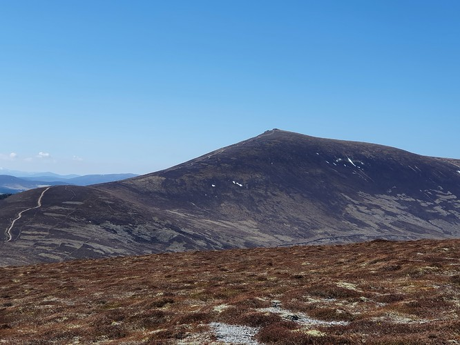 Ben Rinnes from Meikle Conval