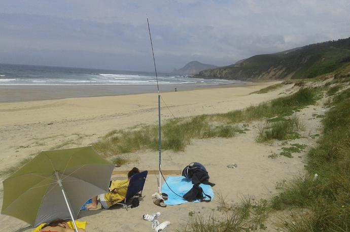 Beach-setup