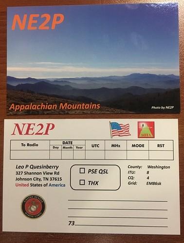 NE2P QSL CARD