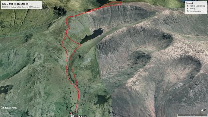 Garmin GPS Track Google Earth 1080p