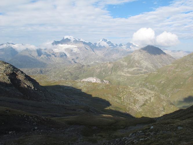 Bernina group, about 4000 m high