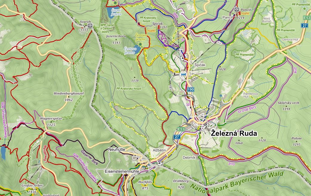 Topographic Maps Of Europe Online Resources Sota Reflector