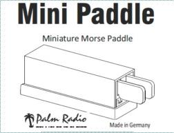 Cw Paddle Kit