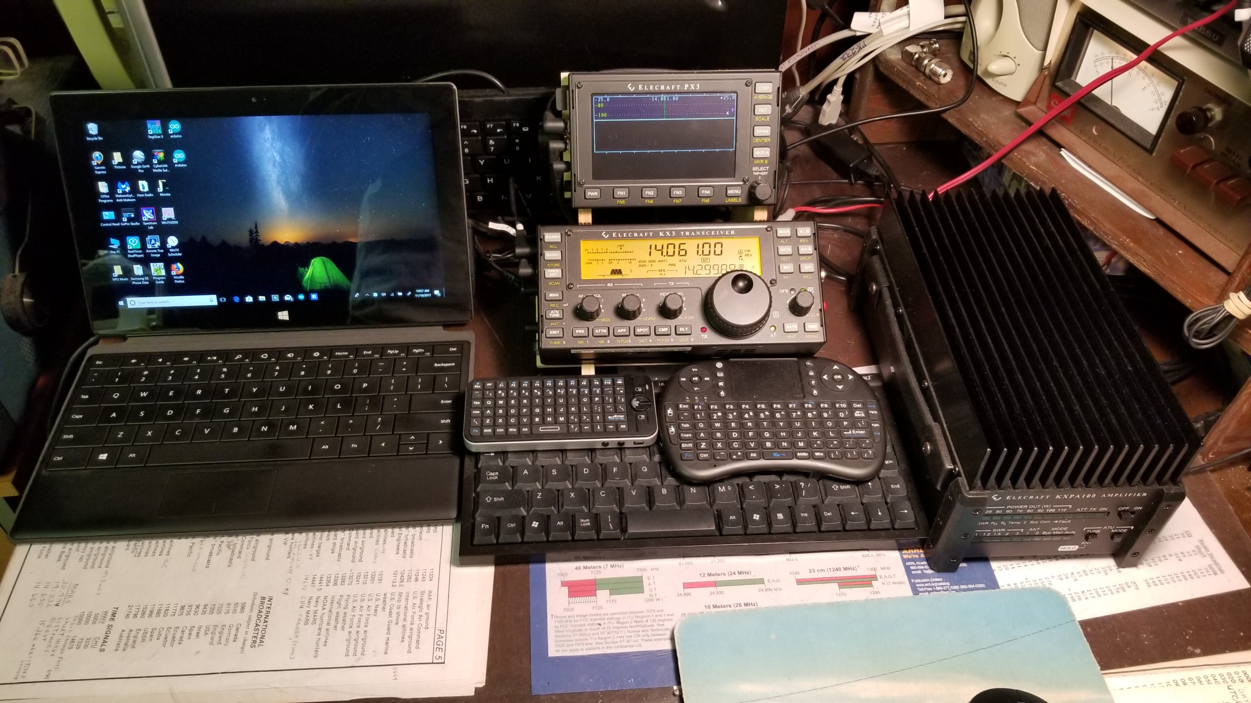 Chasers: Show us your Station - Equipment - SOTA Reflector