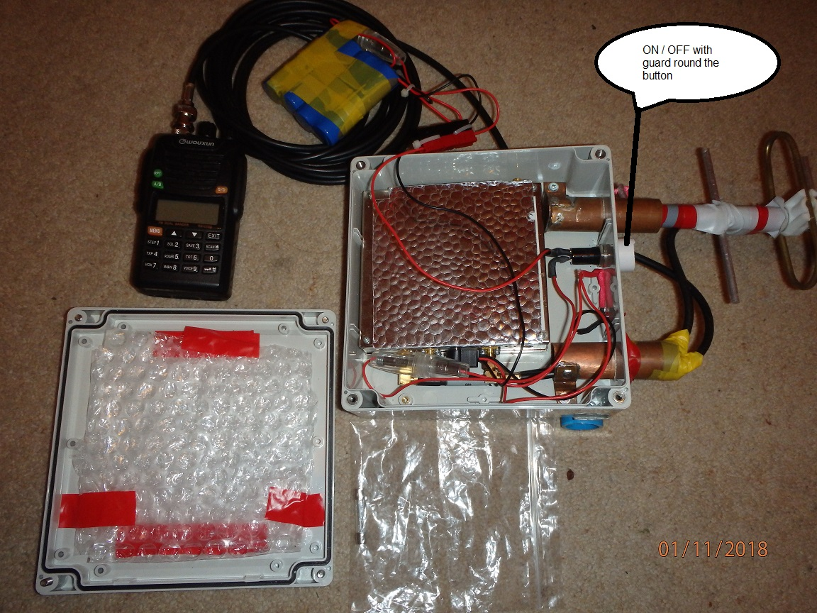 Getting started on 23cm - On the Bands - SOTA Reflector