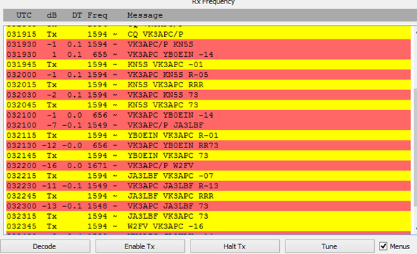 Going SOTA /P with WSJT-X - Activation Reports - SOTA Reflector
