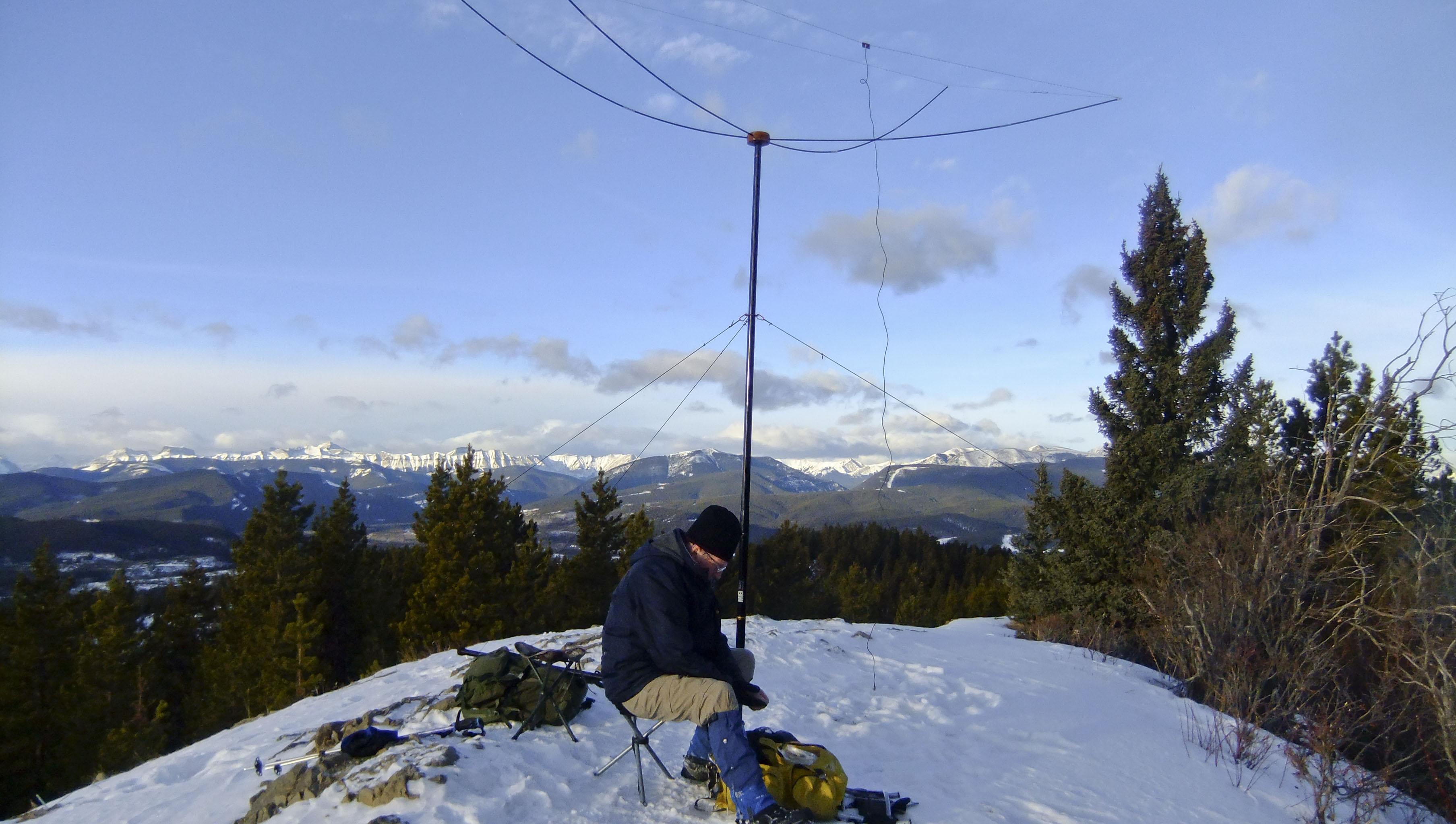Retractable 2-element HB9CV for 6 meters - Antennas - SOTA